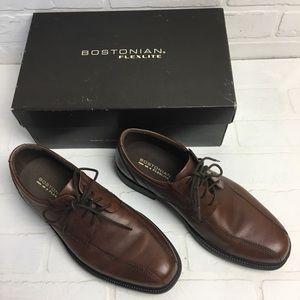 Bostonian Bardwell Walk Brown Mens Shoes sz 8 1/2m
